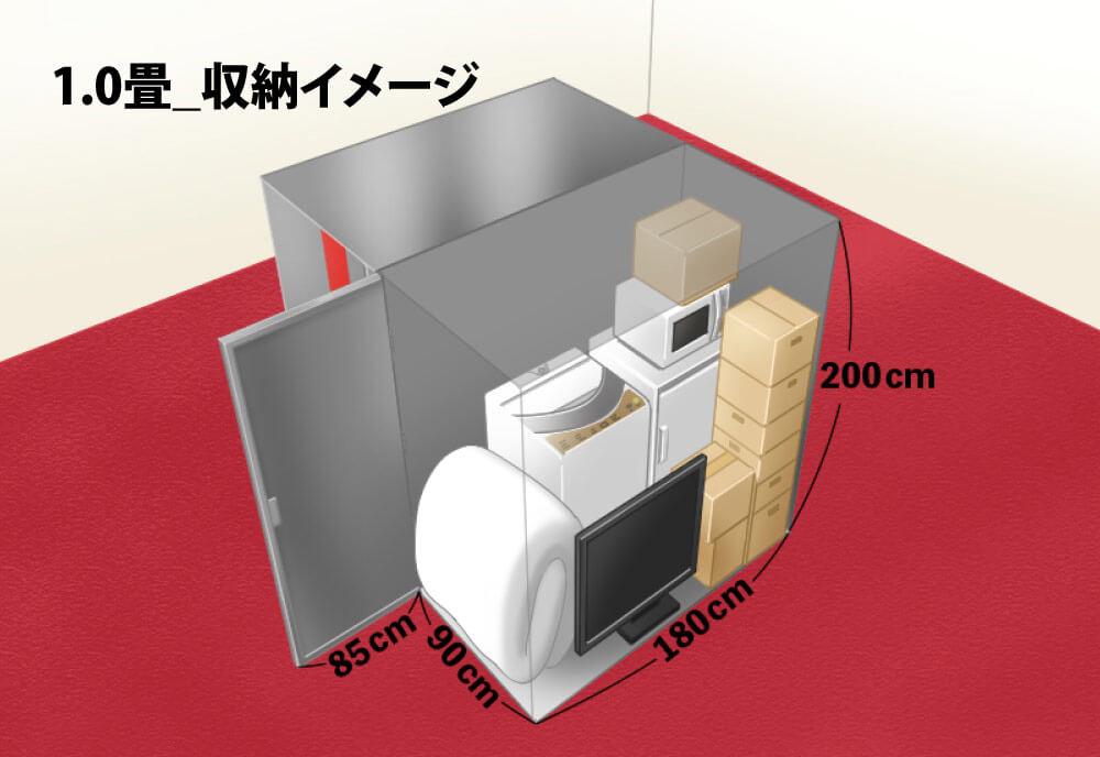 1.0畳 トランクルーム
